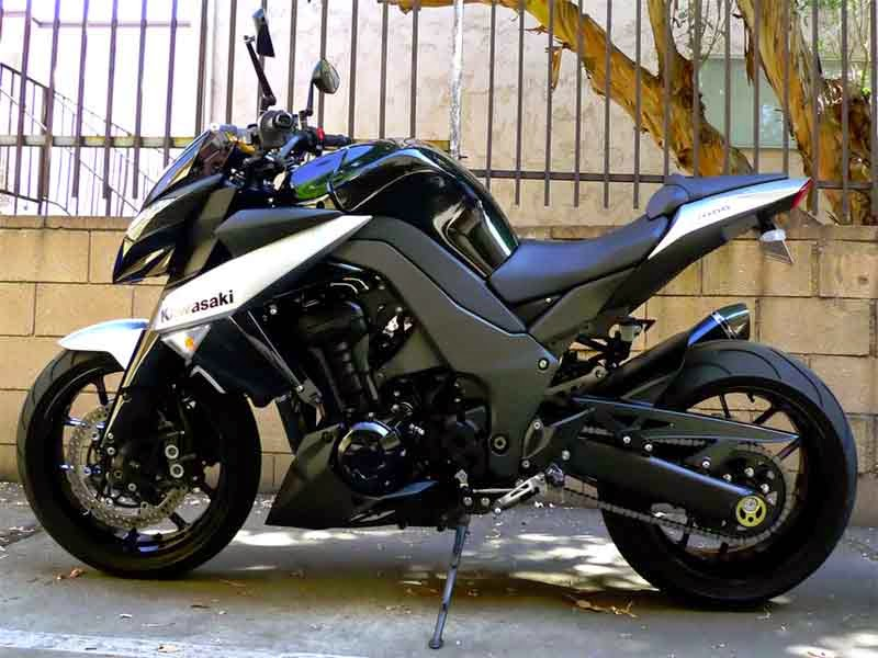 Kawasaki Z1000 Modifikasi