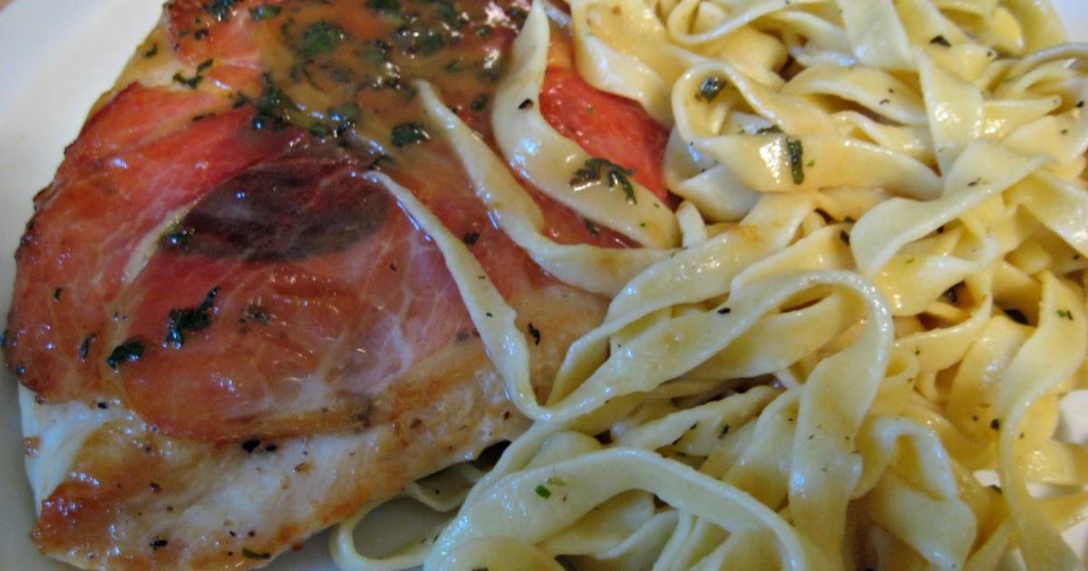 alimakes: Ali makes dinner - Chicken with Prosciutto & Sage