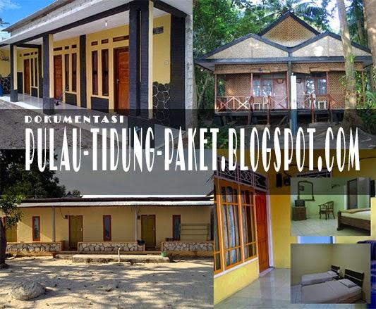 Contoh Photo Bentuk Homestay di Pulau Tidung