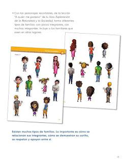 Apoyo Primaria Formación Cívica y Ética 2do grado Bloque 1 lección 2 Familias diversas
