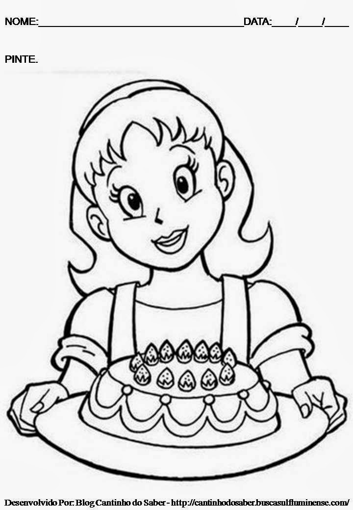 desenhos para colorir 8 de março dia internacional da mulher