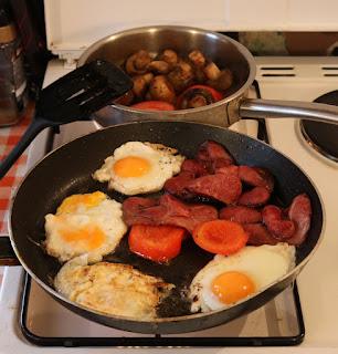 A small breakfast