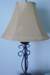 No sew lamp shade redo the melrose family before i give the tutorial on how i went about making over this beaut i feel its important to remind you that i dont sew i know gasp aloadofball Images
