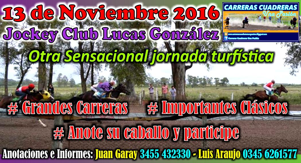 LUCAS GONZALEZ - 13.11.2016