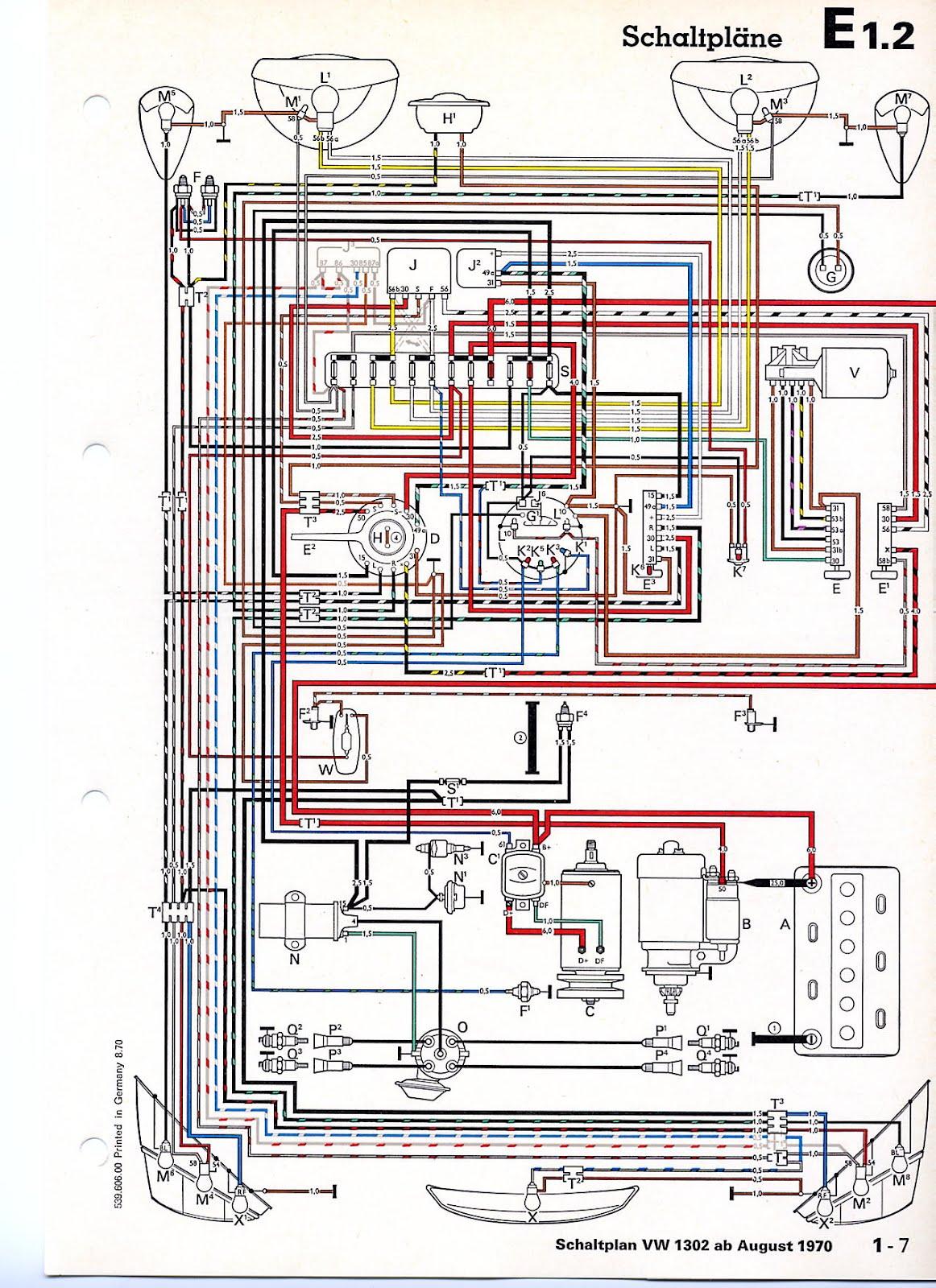 68 volkswagen beetle wiring diagram 68 volkswagen beetle