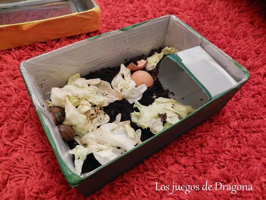 Los juegos de dragona c mo hacer un terrario para caracoles for Caracoles de jardin como eliminarlos