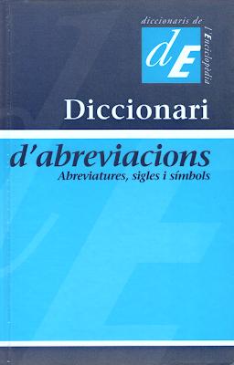 abreviacions, abreviatures, sigles, símbols, acrònims