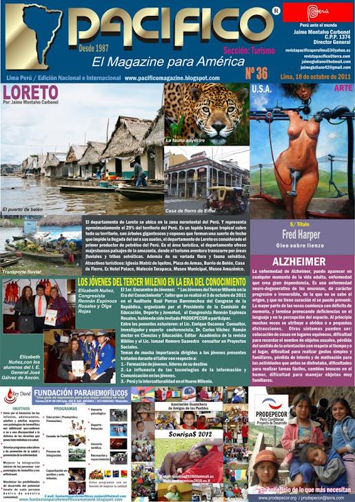 Revista Pacífico  Nº 36 Turismo