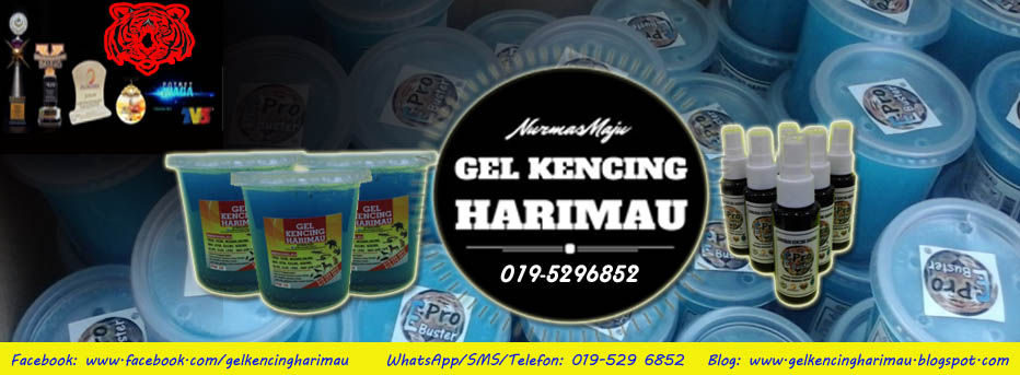 GEL & SPRAY KENCING HARIMAU