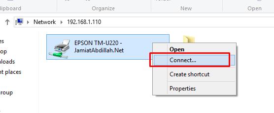 Cara Sharing Printer di Windows 7