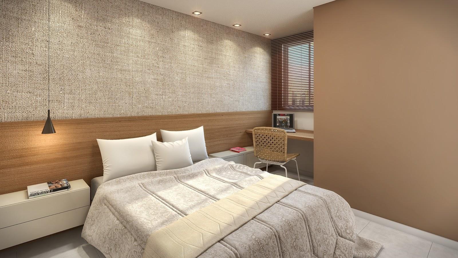 Construindo Minha Casa Clean Quartos Pequenos dos Sonhos de Todo Casal  5 D