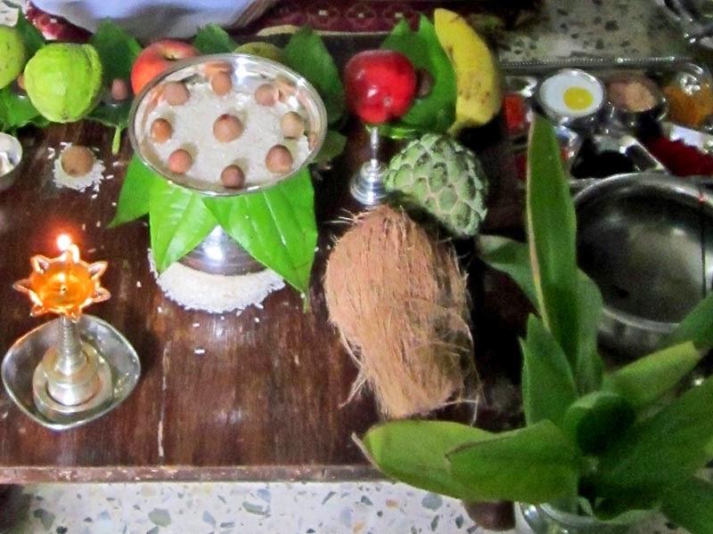 Hindu religious ritual items