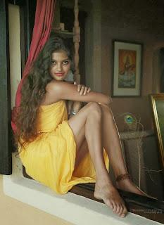 Rudrani Dias sexy legs
