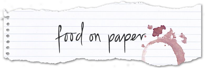 food on paper