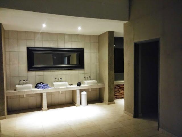 Camping bathroom facilities