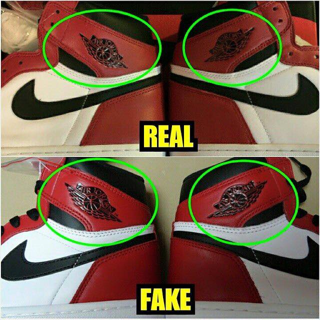 air jordan 1 chicago 2015 fake vs real