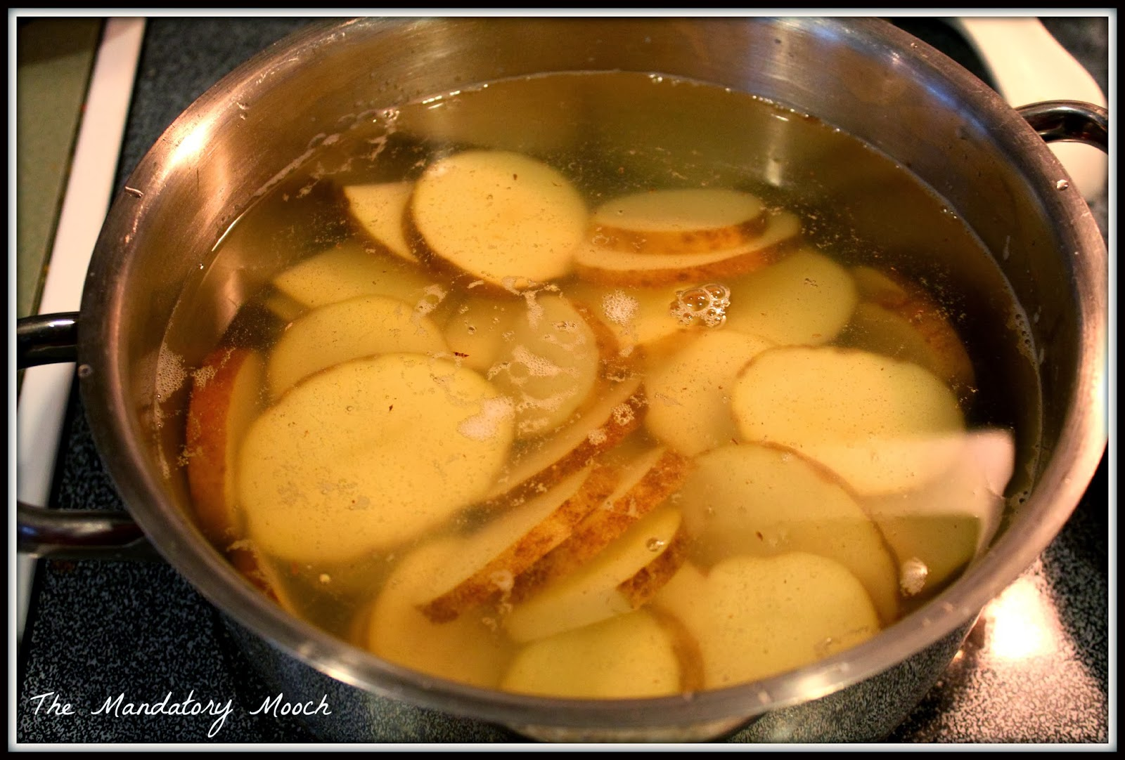 The Mandatory Mooch: Loaded Baked Potato Slices