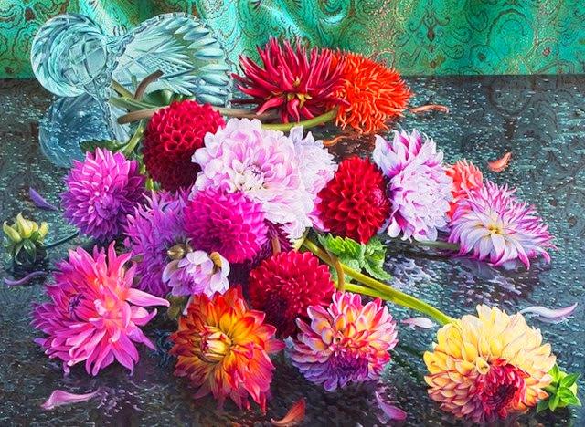 realismo-cuadros-de-flores