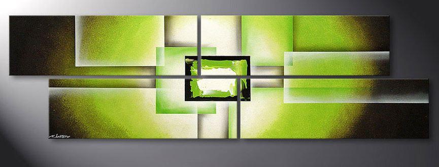 Emejing Wandbilder Wohnzimmer Grun Pictures - House Design Ideas