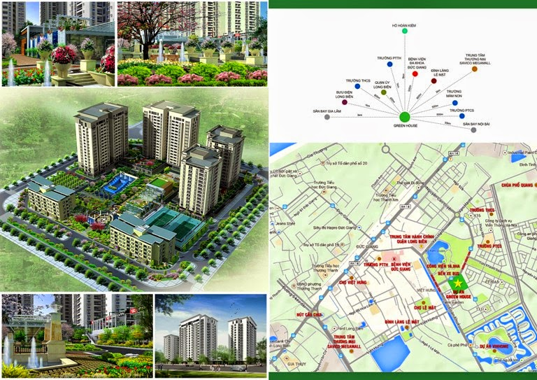 Mở bán căn hộ chung cư Green House 91,06m2