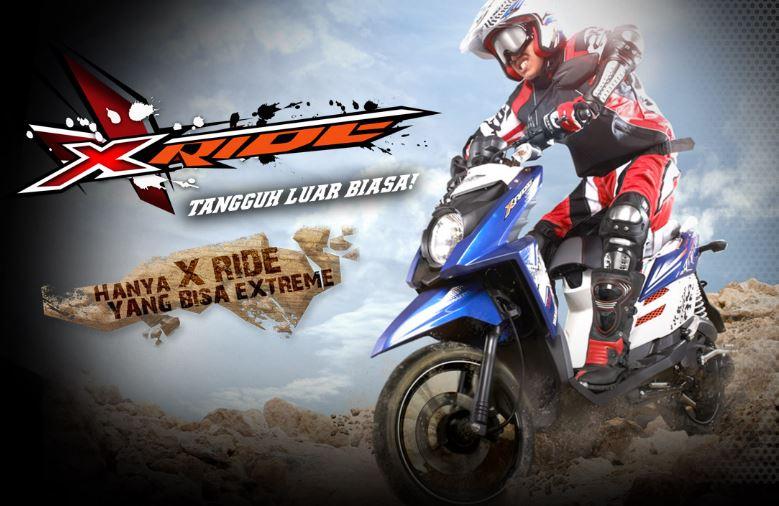 Yamaha X Ride Modifikasi Adventure