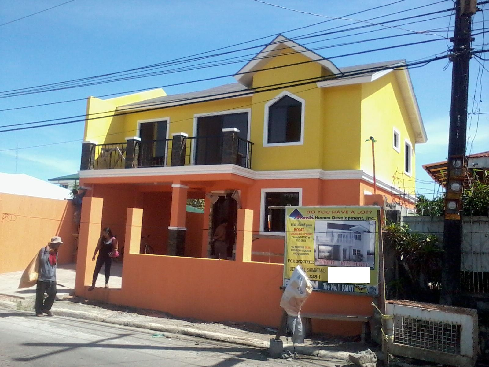 Simple Alta Tierra Village House Project In Jaro Iloilo With Small Modern  House Design Philippines