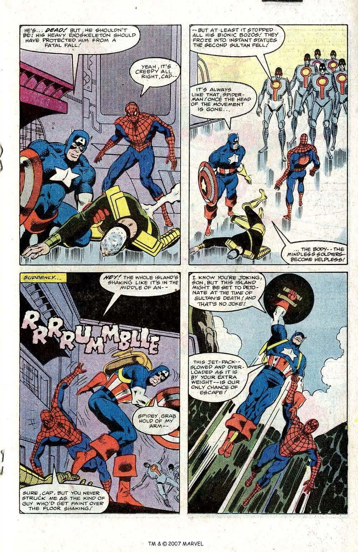 Captain America (1968) Issue #266 #181 - English 19