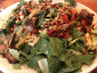 California Pizza Kitchen dish: Roasted Vegetable Salad