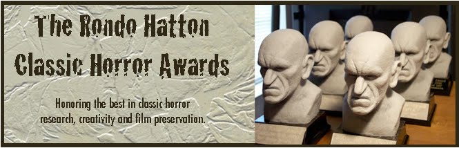 14th Rondo Hatton Classic Horror Awards - Eu Votei!