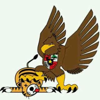 Lalu Munsy Afandi - Gambar kartun Burung Garuda Vs Harimau Malaya - Indonesia Vs Malaysia