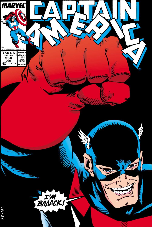 Captain America (1968) Issue #354 #286 - English 1
