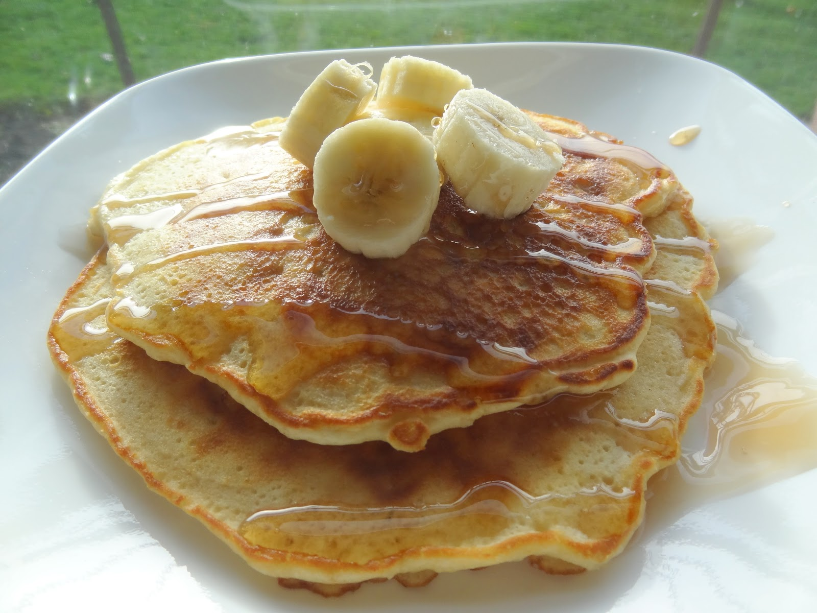 have come to really LOVE banana pancakes this year.