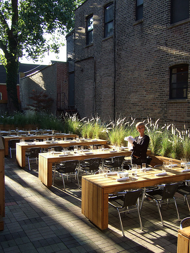 Lost found dining al fresco for Restaurants with outdoor seating
