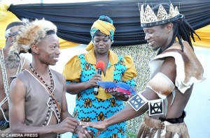 South African traditional gay wedding
