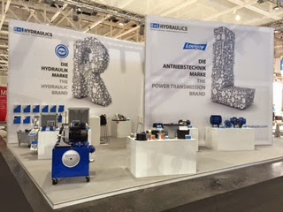 R+L Hydraulics Booth at Hannover Messe 2015