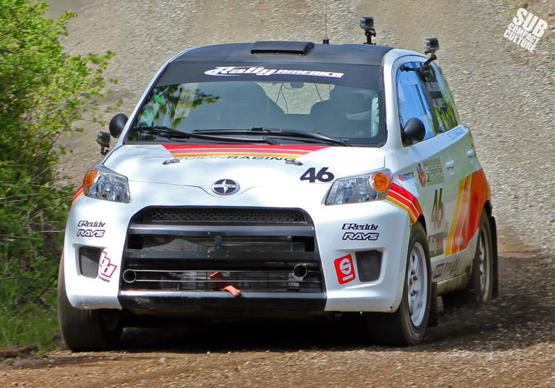 Scion Racing xD Rally Car