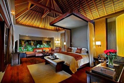 exotic bedroom interior design model