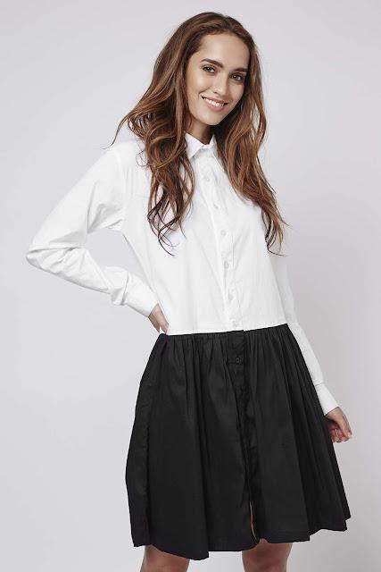 absence of colour shirt dress,