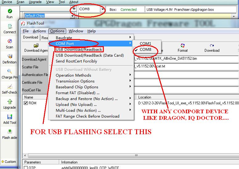 SP Flash tool download - SmartPhone FlashTool