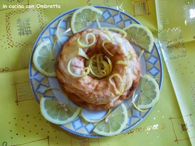 ciambella dietetica al limone