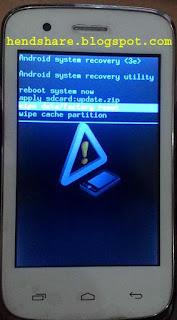 Cara Hard Reset Ponsel Android Advan Vandroid S35E dengan Mudah