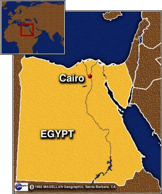 Cairo Map Of Egypt
