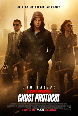 L'acteur Tom Cruise dans Mission Impossible 4