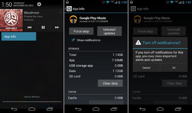 Description: Berikut cara mematikan notifikasi dari aplikasi di Android