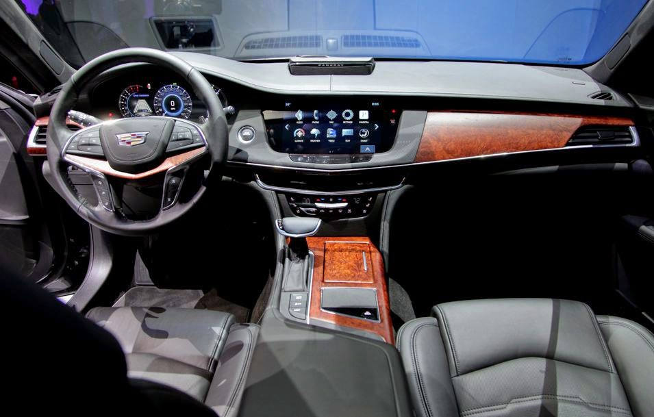 I M Seeing A Lot Of Cadillac Influence In The Interior