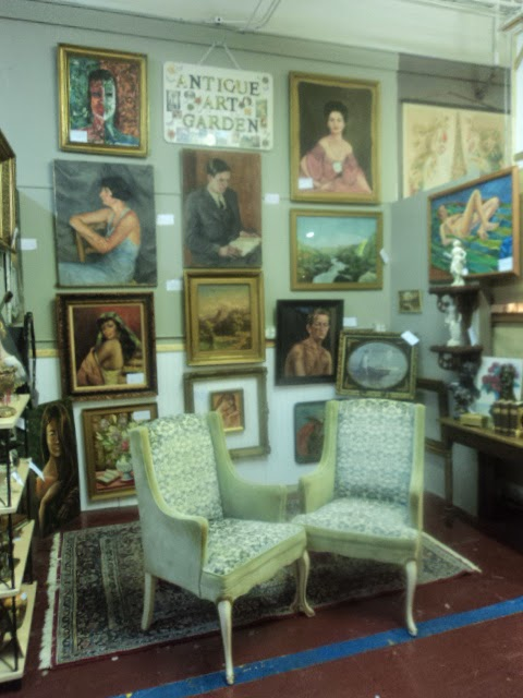 Antique ART Garden NOW At SLEEPY POET Antique Mall In Charlotte, NC