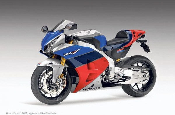 Honda Sports 2017 Legendary Like Fireblade