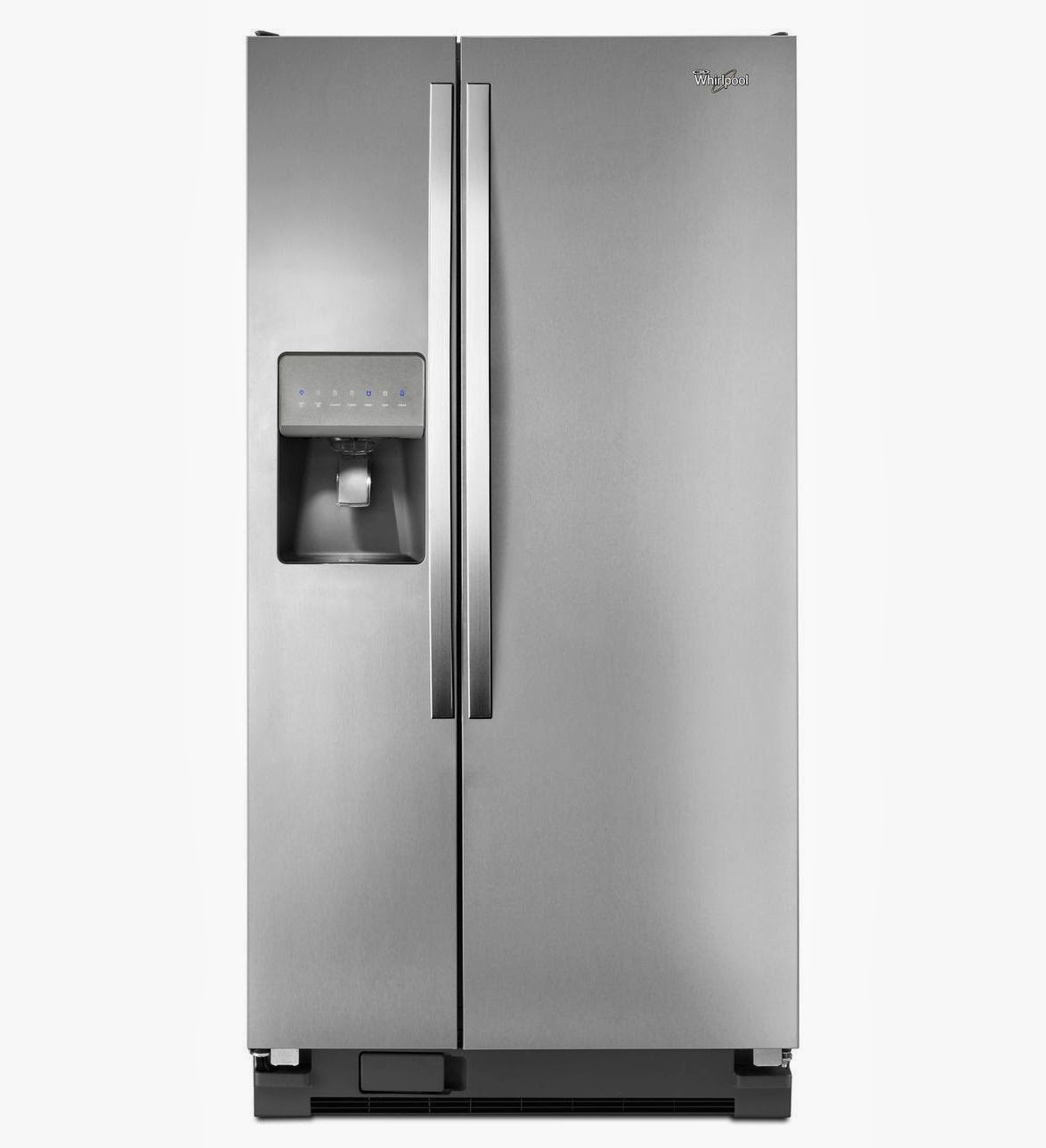 whirlpool refrigerator brand wrs322fdam side by side refrigerator. Black Bedroom Furniture Sets. Home Design Ideas