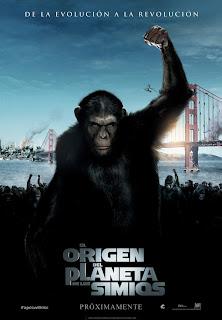 el origen del planeta de los simios poster