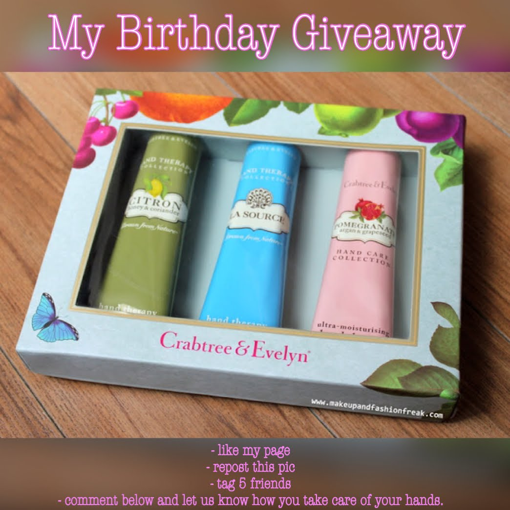 **Take Part In My Birthday Giveaway**